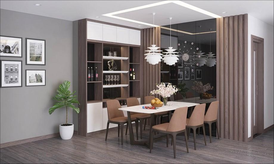 Thiết kế bếp và phòng ăn hiện đại