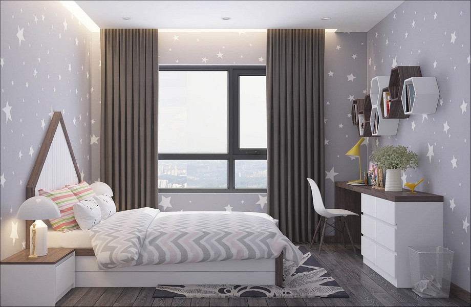 Nội thất phòng ngủ được thiết kế thông minh