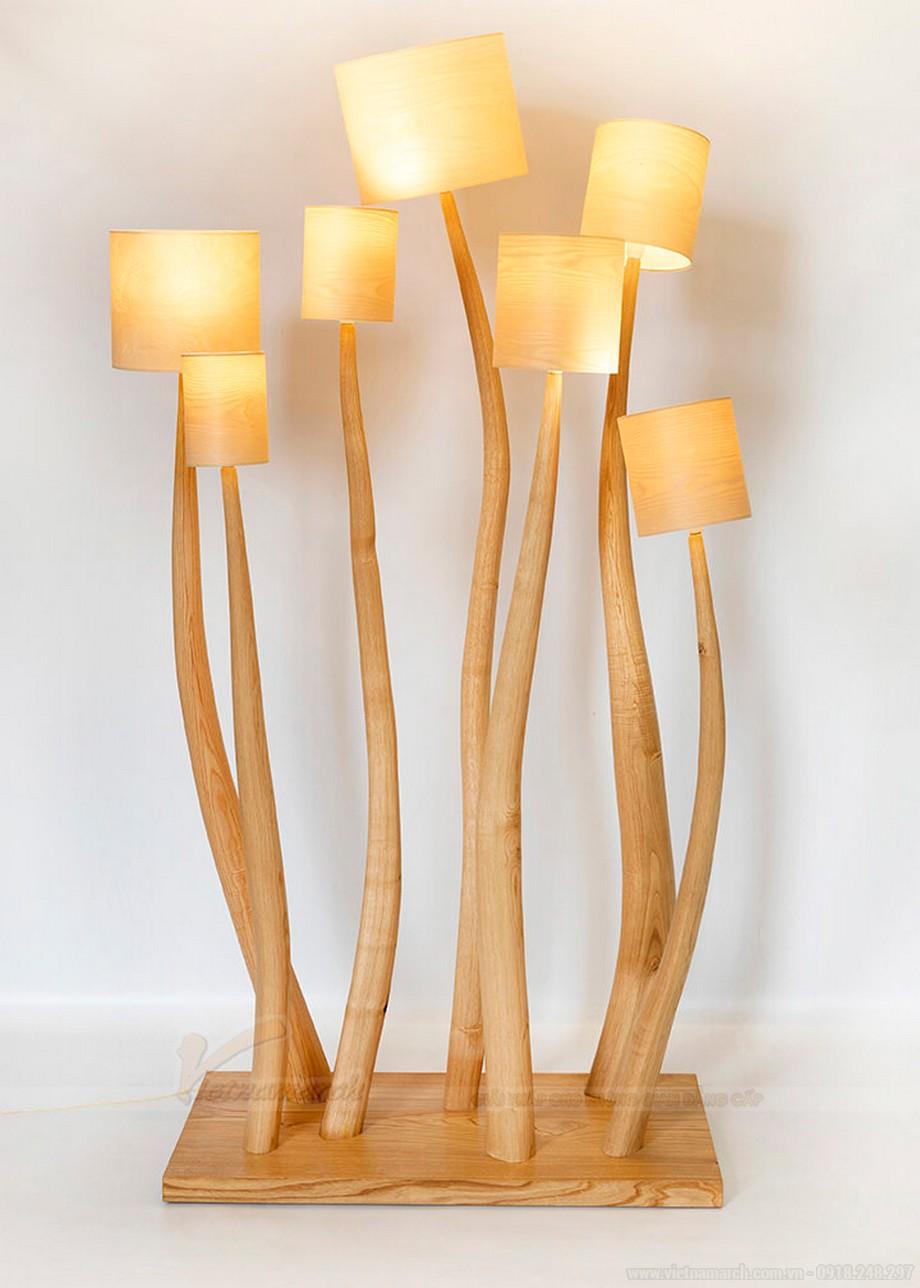 Những mẫu đèn ngủ bằng gỗ đẹp nhất 2021