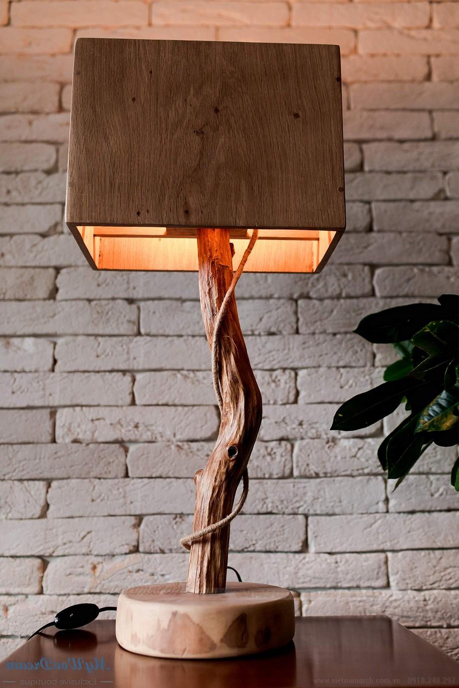 Các mẫu đèn ngủ bằng gỗ đẹp
