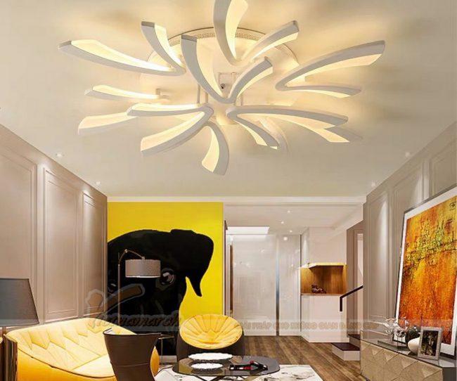 Những mẫu đèn trần đẹp không thể bỏ qua cho căn hộ chung cư