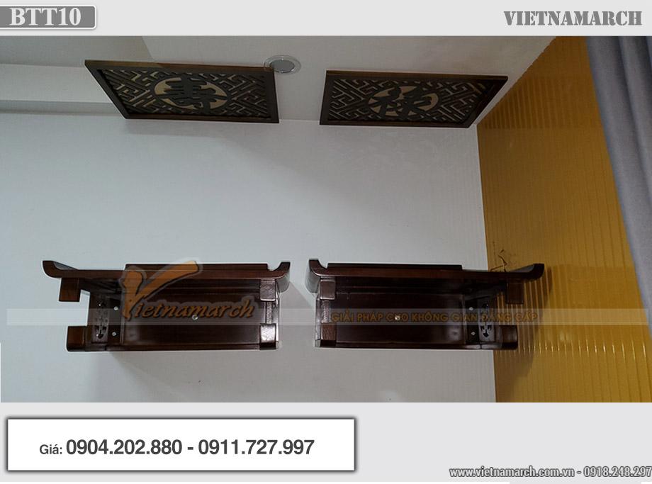 Lắp đặt bàn thờ bên nội bên ngoại tại chung cư An Bình City - BTT10