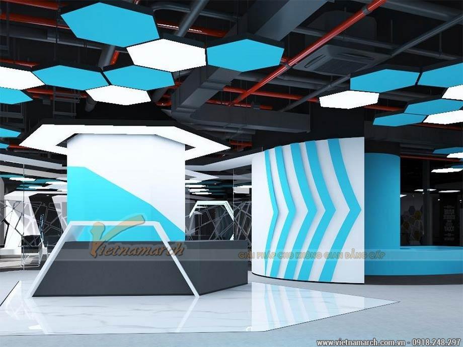Hồ sơ thiết kế văn phòng tòa nhà Dolphin Plaza