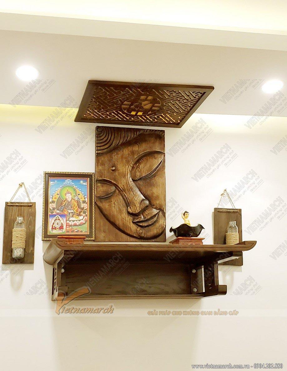 Cách trang trí bàn thờ Phật tại gia đầy tính nghệ thuật