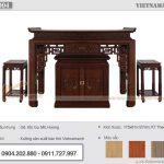 Mẫu thiết kế bàn thờ đứng BTD04 cho chung cư bán chạy nhất năm 2021