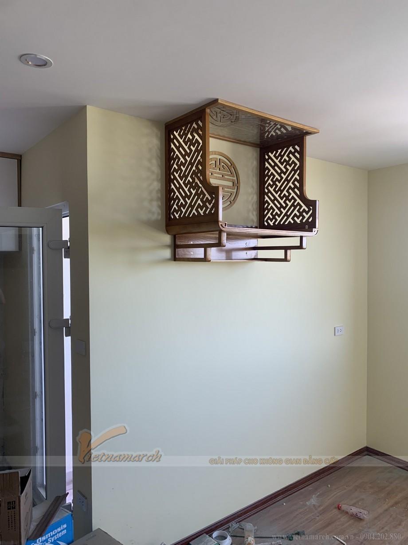 Bàn thờ là vật phẩm được mua đầu tiên trong nội thất nhà chung cư mới