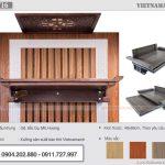 Mẫu bàn thờ treo đẹp BTT16 – Lựa chọn hàng đầu của các công ty thiết kế nội thất chung cư
