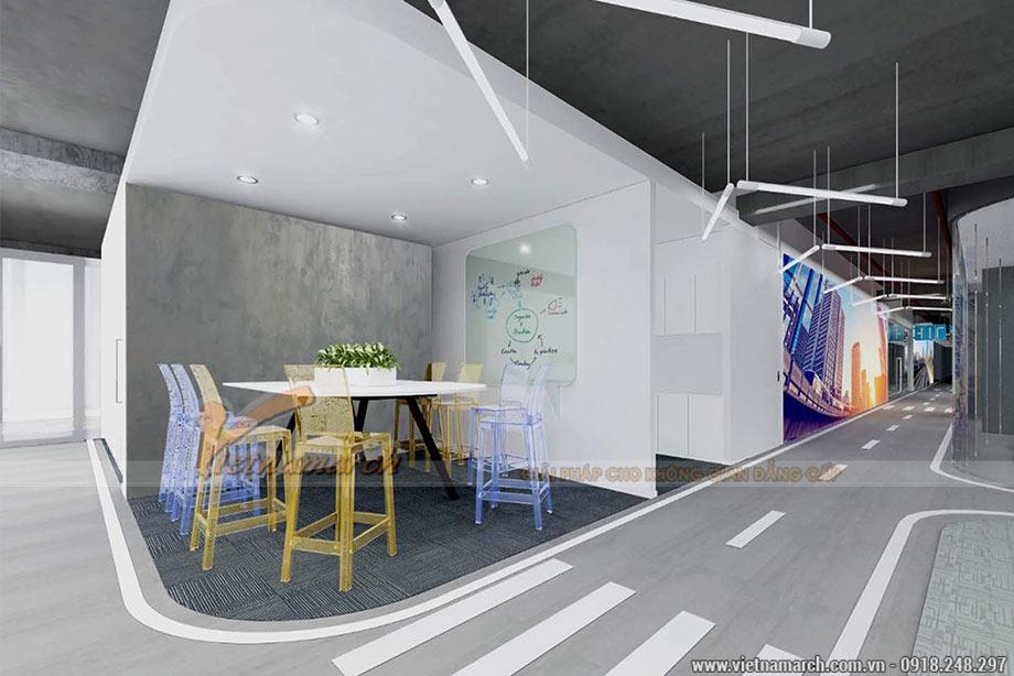 Mẫu thiết kế nội thất văn phòng tại tòa Leadvisors Tower