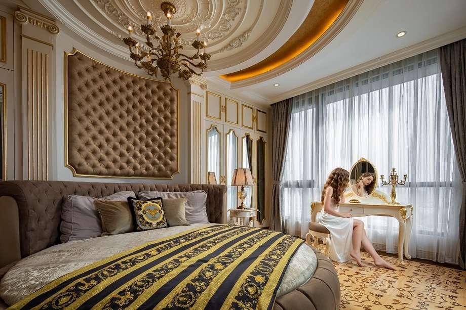 Mẫu nội thất chung cư D'palais Louis phong cách Dragan