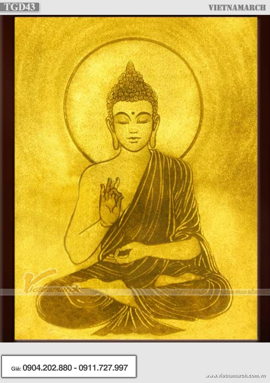 Mẫu tranh chân dung Phật