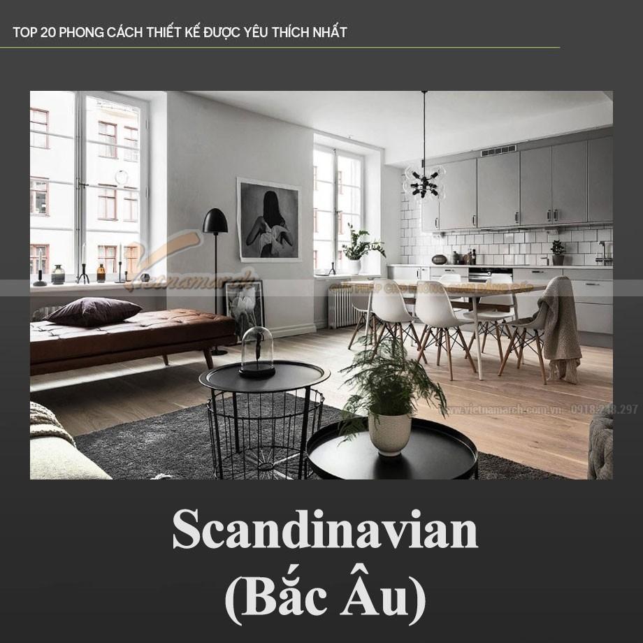 Phong cách Bắc Âu - Scandinavian