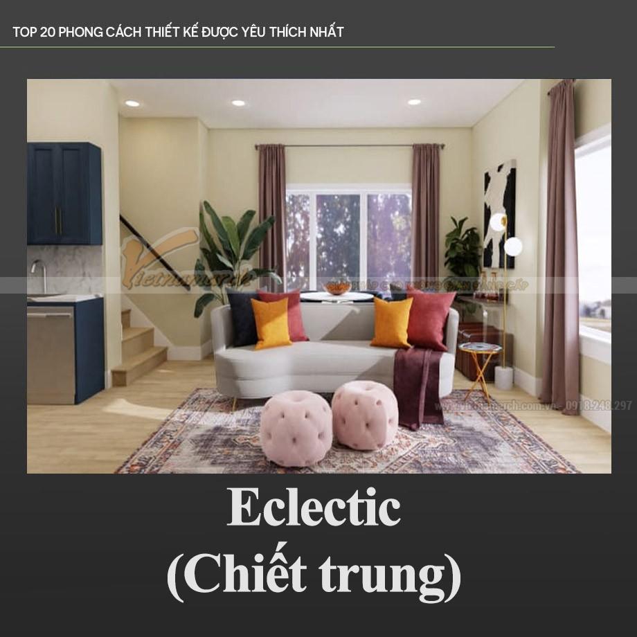 Phong cách Chiết trung – Eclectic