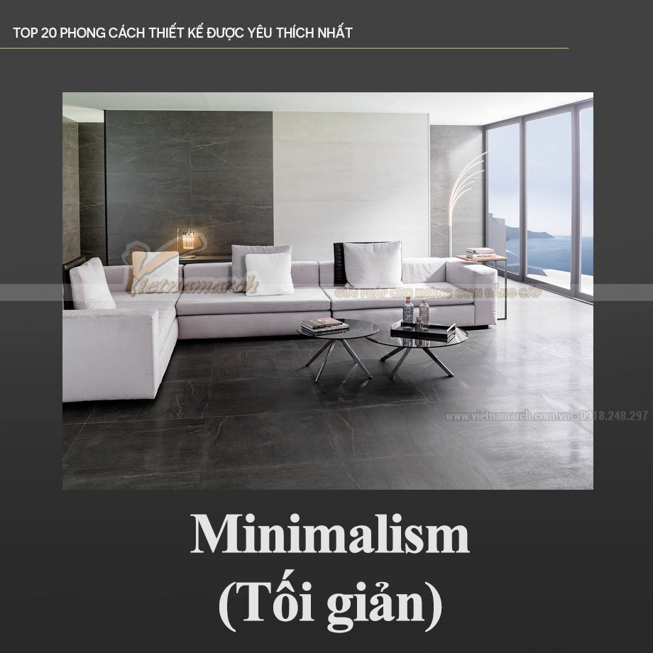 Phong cách Tối giản – Minimalism