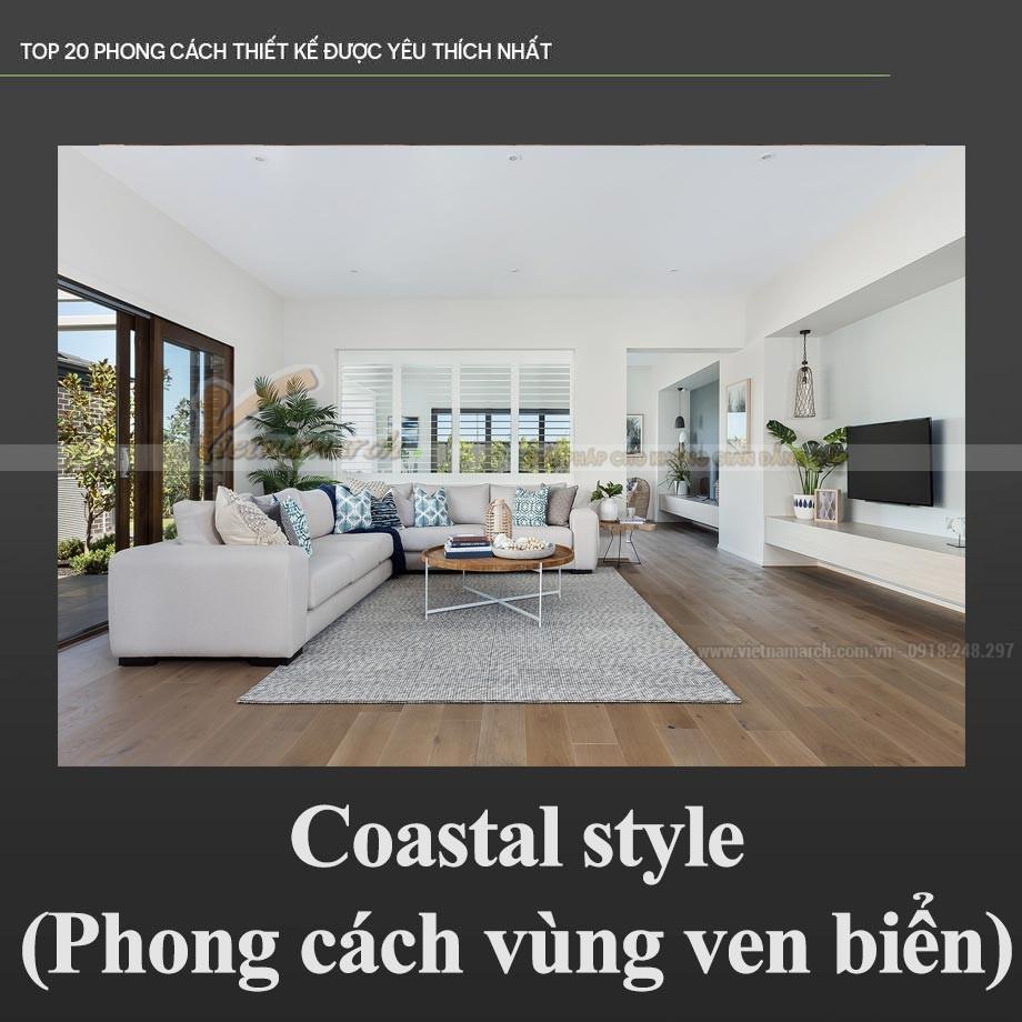 Phong cách ven biển - Coastal Style