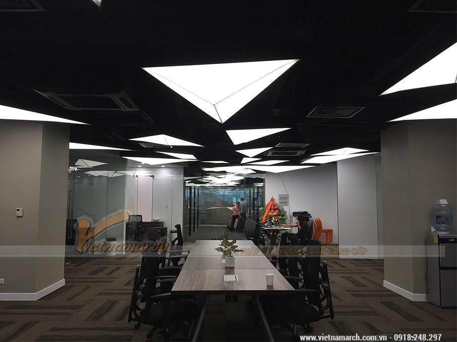 Thi công văn phòng 750m2 tại 519 Kim Mã