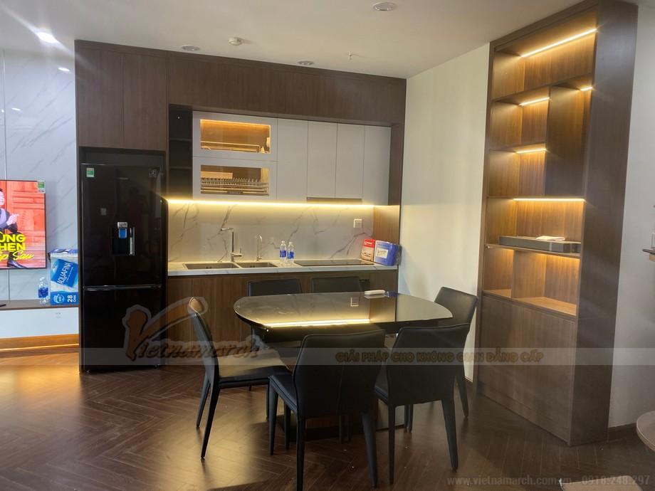 Thiết kế thi công căn hộ B1602 chung cư Thiên Niên Kỷ - Hatay Millennium