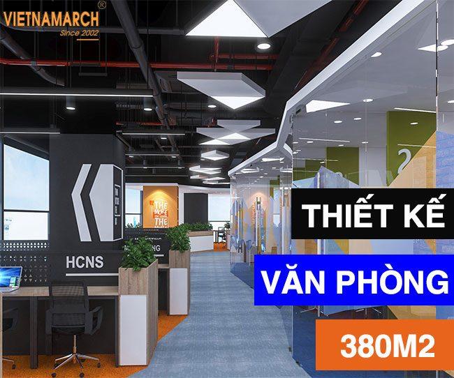 Thiết kế văn phòng 380m2 tại 28 Trần Bình