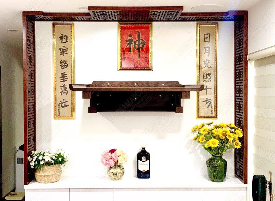 Chủ nhà mệnh Kim nên chọn hướng đặt bàn thờ hướng Tây Bắc, Tây Nam, Đông Bắc và hướng Tây