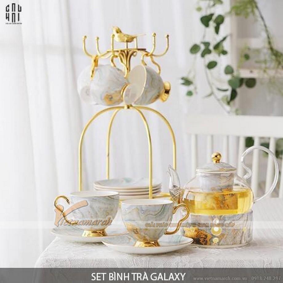 Một bộ ấm trà đẹp hoàn hảo có thể nâng tầm tách trà của bạn