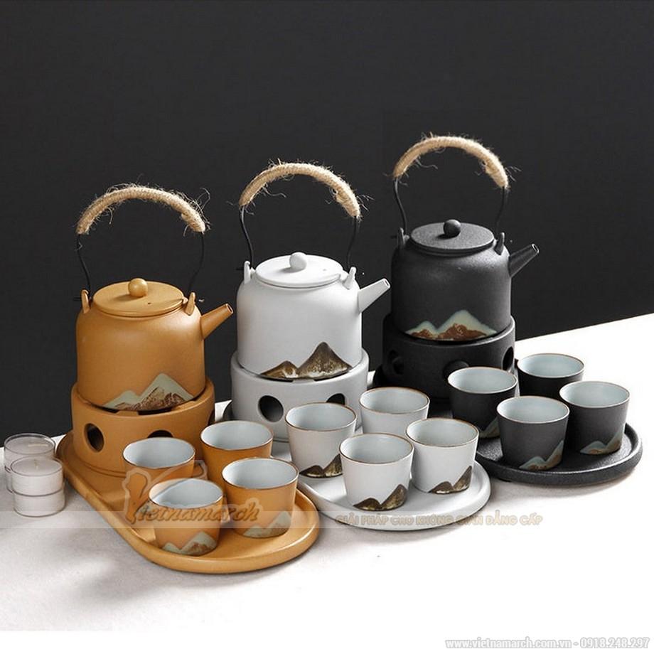 Bộ ấm trà gốm Zen Kungfu