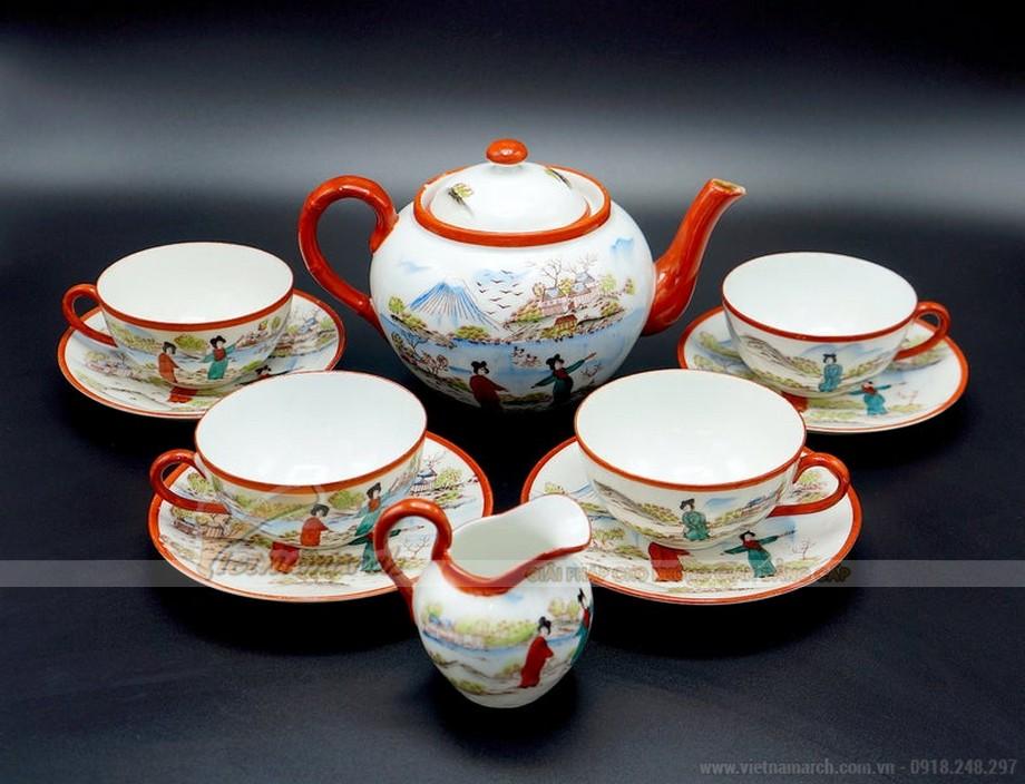 Bộ ấm trà Nhật Bản phong cách cổ điển
