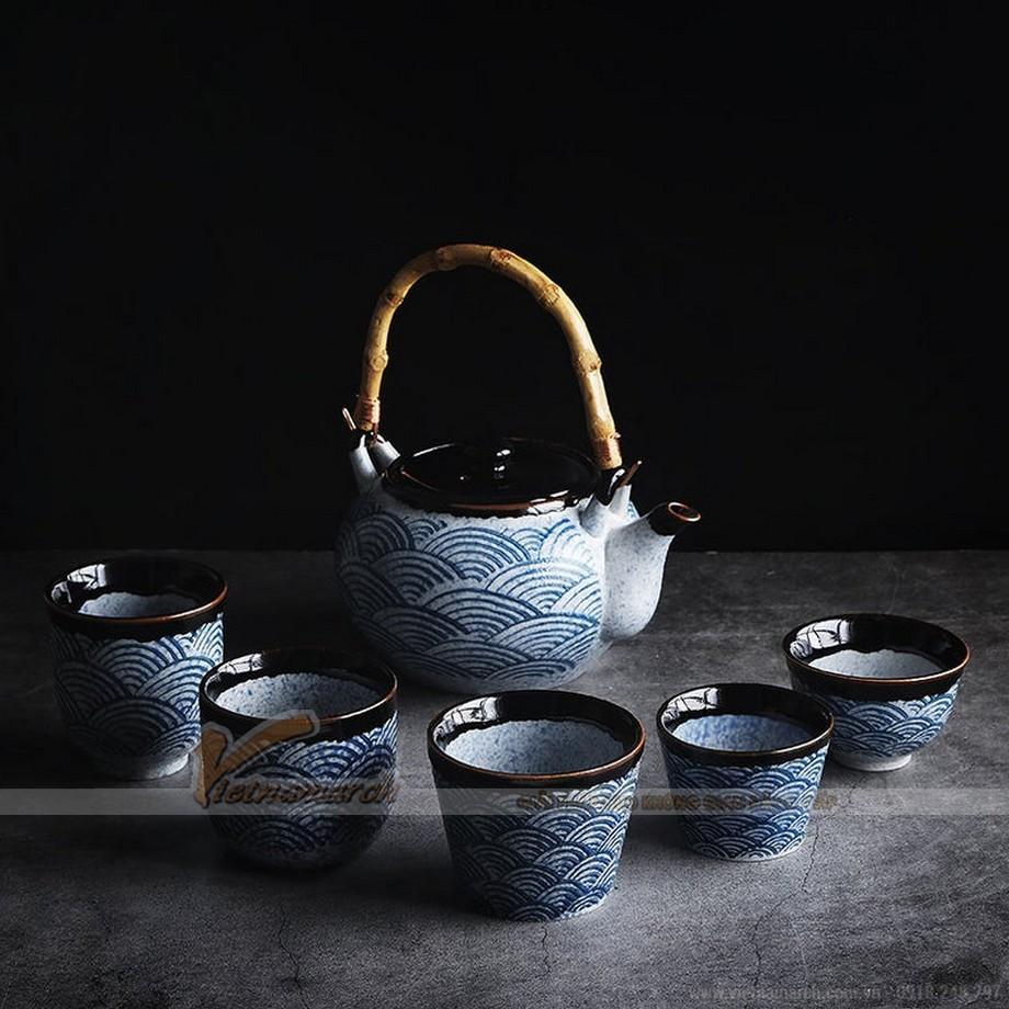 mẫu bộ ấm trà Nhật đẹp nhất hiện nay