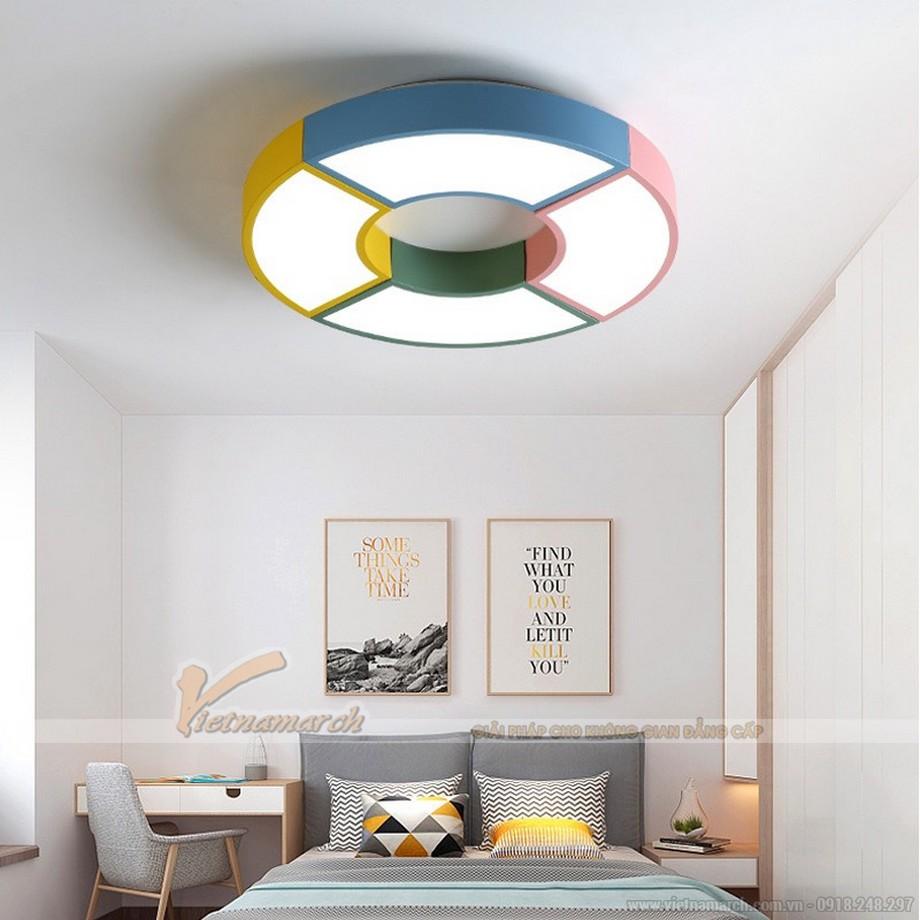 Bố trí đèn phòng ngủ cho bé trần bê tông phải đảm bảo đủ ánh sáng
