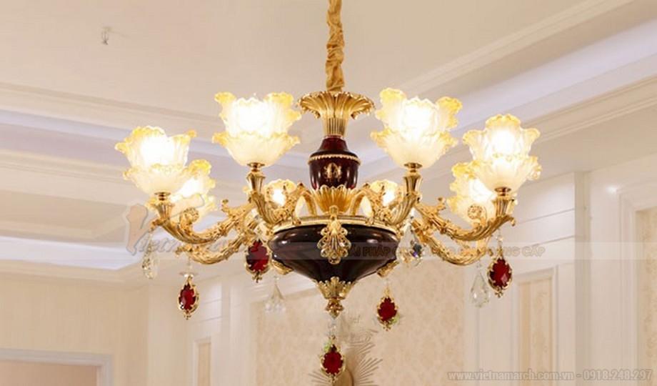 Đèn chùm trang trí phòng ngủ mang đến nhiều ưu điểm