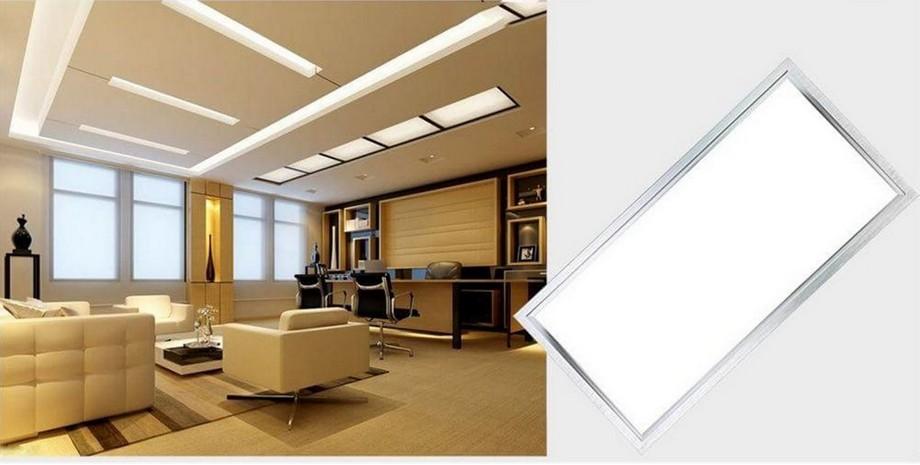 Đèn la phông panel hình chữ nhật cho văn phòng