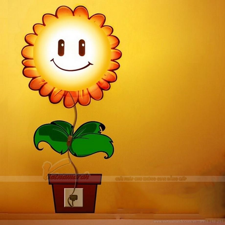 mẫu đèn ngủ phòng bé gái ngộ nghĩnh, đáng yêu