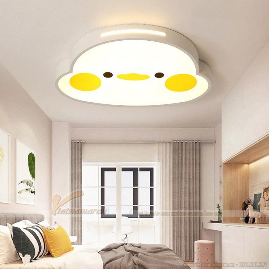 Đèn ngủ cho bé gái chọn loại ánh sáng vàng dịu nhẹ