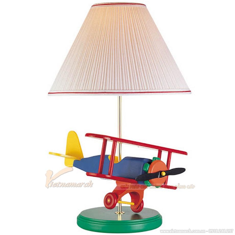Đèn ngủ mô phỏng máy bay nhiều màu sắc