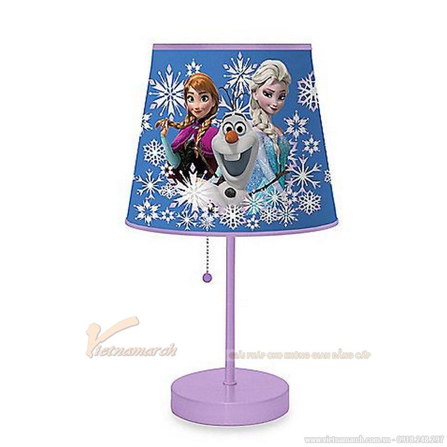 Đèn ngủ để bàn phòng bé gái Công Chúa Elsa