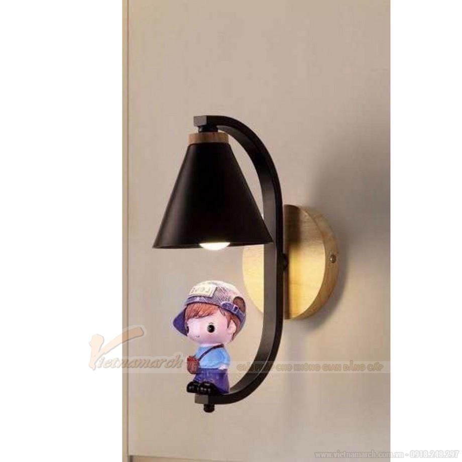 Đèn ngủ treo tường cho bé hình cậu bé ngộ nghĩnh