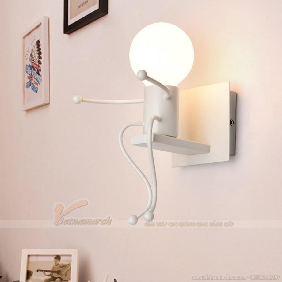 Đèn ngủ treo tường cho bé hình người thú vị