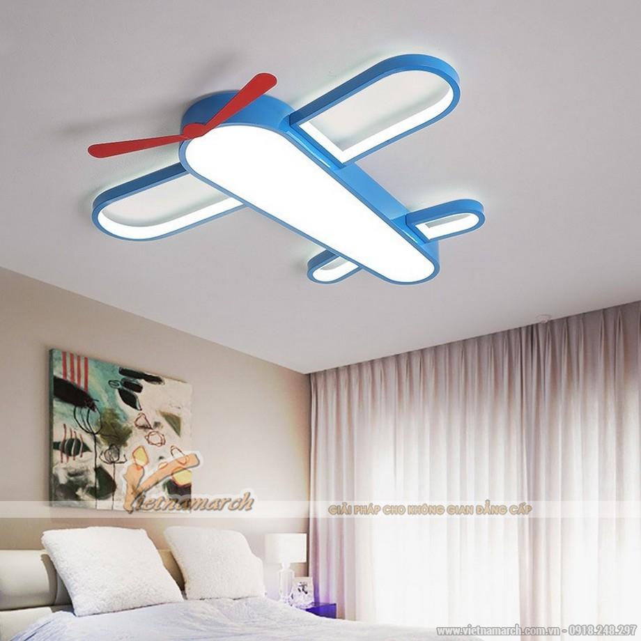Mẫu đèn ốp trần hình máy bay