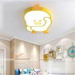 Cách bố trí đèn phòng ngủ cho bé trần bê tông