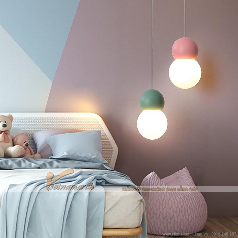 Đèn phòng ngủ trần bê tông