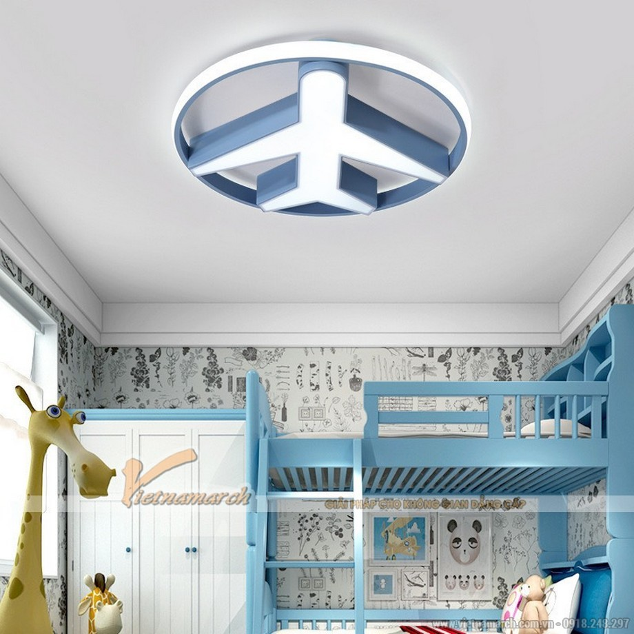 Top những mẫu đèn ốp trần phòng trẻ em