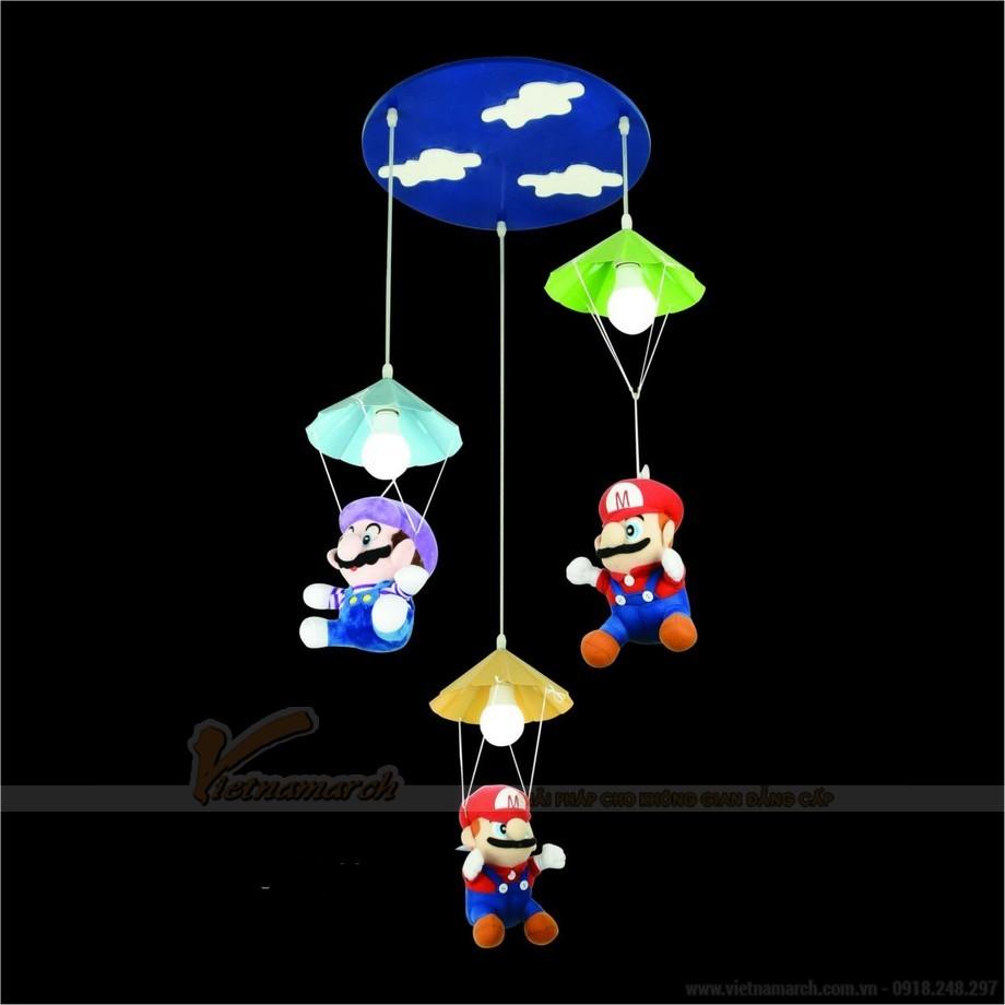 Đèn thả phòng trẻ em trò chơi Mario huyền thoại