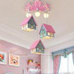 8 mẫu đèn thả phòng trẻ em siêu đáng yêu