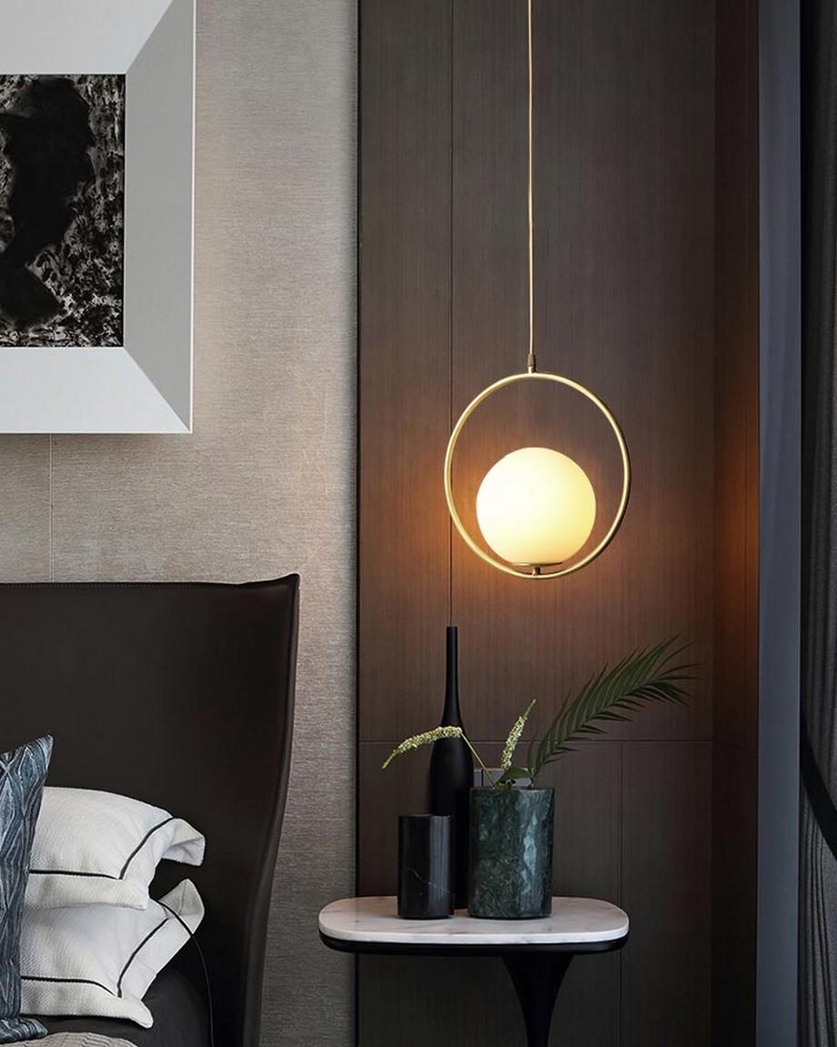 Lựa chọn được một mẫu đèn thả trần đẹp mang lại cho không gian phòng ngủ của bạn có ánh sáng dịu êm, dễ chịu, nghỉ ngơi thư thái và bạn sẽ nhẹ nhàng chìm vào những giấc mộng đẹp đẽ.