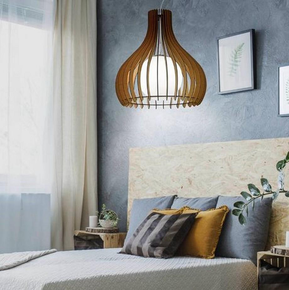 Những mẫu đèn thả nghệ thuật sáng tạo trang trí phong phú cả về kiểu dáng lẫn phong cách, phù hợp với nhiều thiết kế phòng ngủ đa dạng