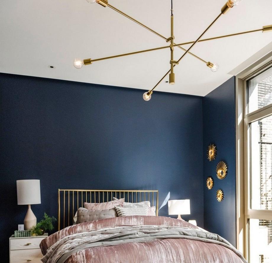 Sử dụng đèn thả trần phòng ngủ có thể giúp bạn tránh được những nhược điểm của đèn bàn