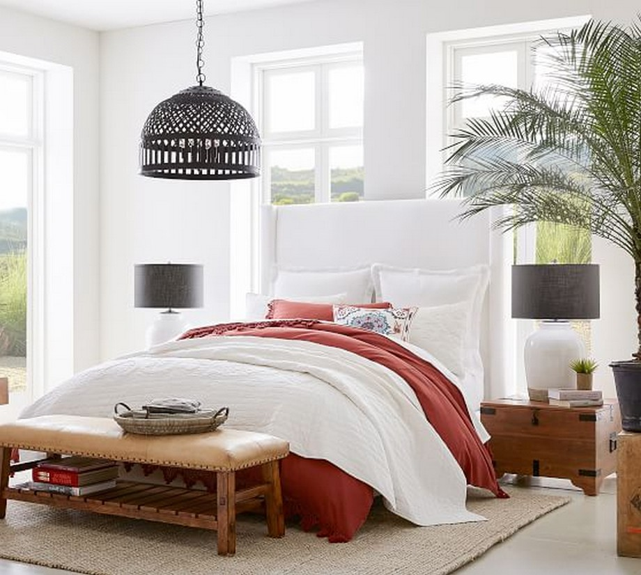 Những mẫu đèn thả trần độc đáo không chỉ dành cho phòng khách mà còn là lựa chọn tuyệt vời cho phòng ngủ