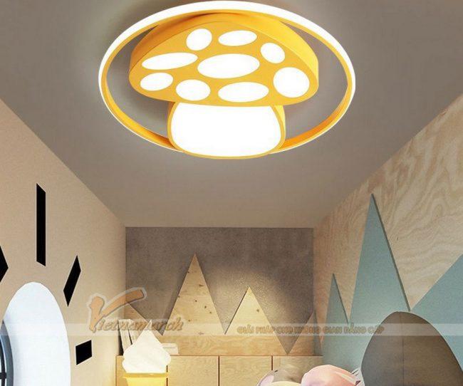 đèn trần phòng ngủ cho bé ánh sáng dịu nhẹ với giấc ngủ của trẻ