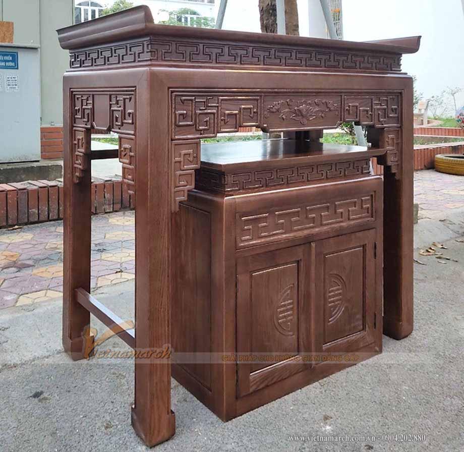 Mua bàn thờ online có được không, vận chuyển bàn thờ thế nào