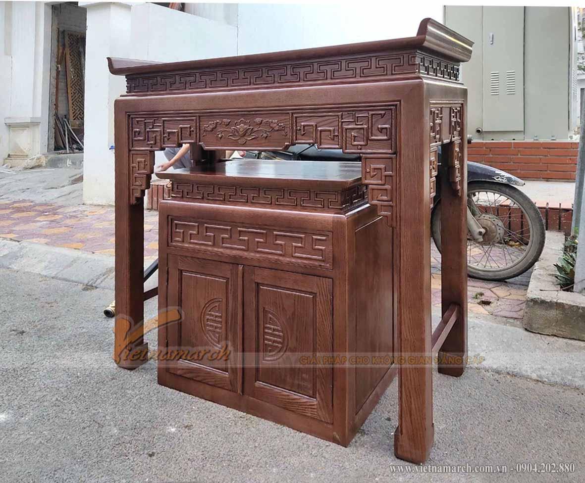 Lắp đặt bàn thờ đứng hoặc vận chuyển đi nhiều nơi như Đắc lắc , Gia lai, Kon tum, Quảng Nam, Đà Nẵng...đều khá tiện lợi