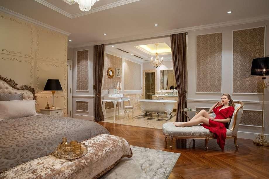 Thiết kế phòng ngủ căn hộ Giusti Portos