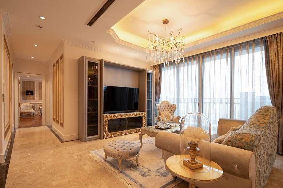Mẫu nội thất chung cư D'palais Louis phong cách Giusti Portos
